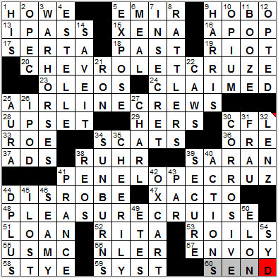 LA Times Crossword Answers 20 Sep 12, Thursday