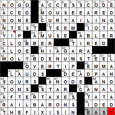 LA Times Crossword Answers 26 Jan 13, Saturday