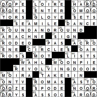 LA Times Crossword Answers 7 Jul 15, Tuesday