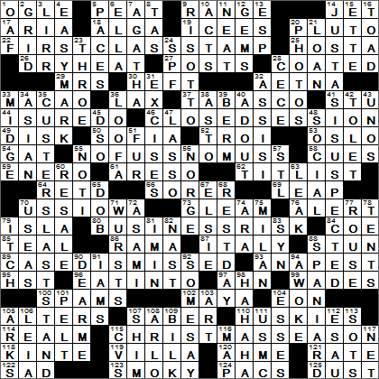 LA Times Crossword Answers 10 Apr 16, Sunday