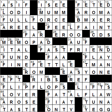 LA Times Crossword Answers 19 Apr 16, Tuesday