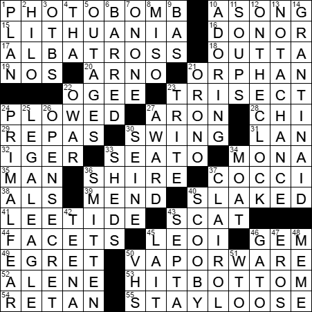 Part Of A Fictional Dog Name Inspired By Sinatra S Strangers In The Night Crossword Clue Archives Laxcrossword Com