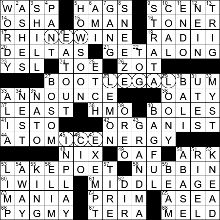 Baa Baa Black Sheep Wool Unit Crossword Clue Archives Laxcrossword Com