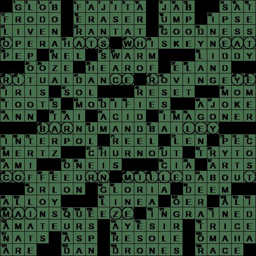 Donizetti Aria Regnava Silenzio Crossword Clue Archives