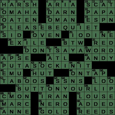 piece of software crossword clue