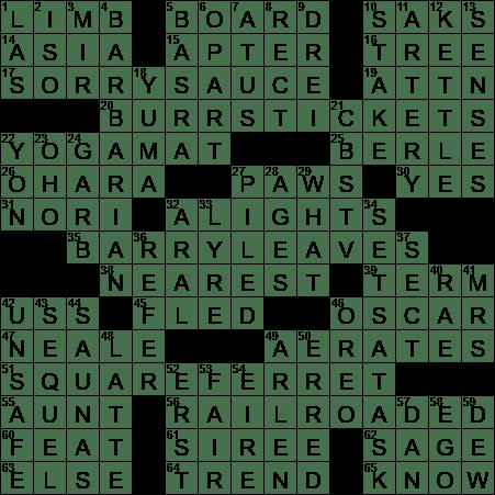 Long Sails Crossword Clue Archives Laxcrossword Com