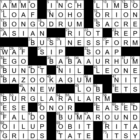 Cake Soaked In Alcoholic Syrup Crossword Clue Archives Laxcrossword Com