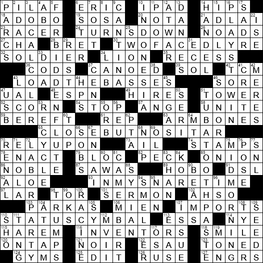 Glyceride for one crossword clue Archives - LAXCrossword com