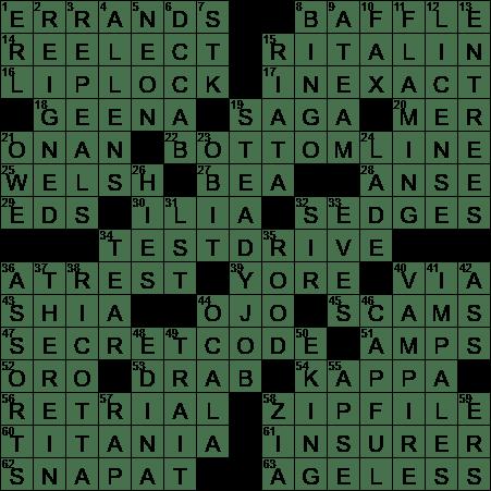Adhd Treatment Crossword Clue Archives Laxcrossword Com