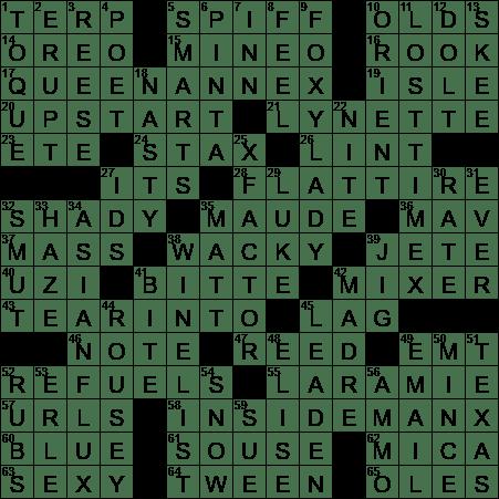 Pringles Alternative Crossword Clue Archives Laxcrossword Com