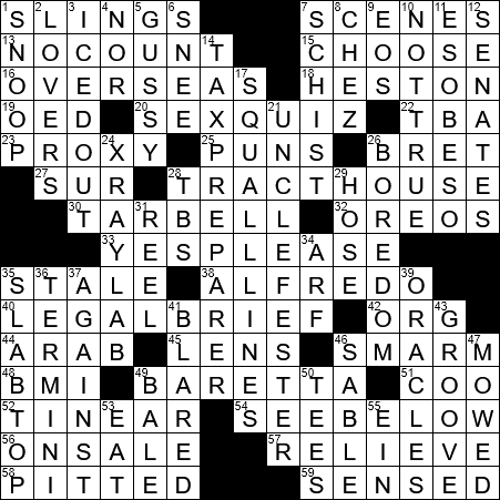 La Times Crossword 2 Mar 19 Saturday Laxcrossword Com