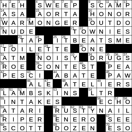 Hawk In The Military Sense Crossword Clue Archives Laxcrossword Com