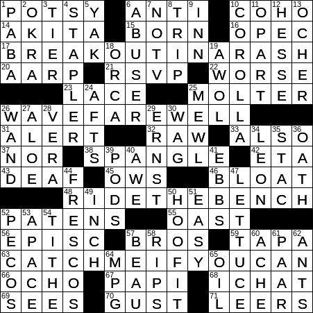 Another Name For Hopscotch Crossword Clue Archives Laxcrossword Com