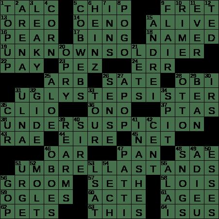 Icy Winter Coating Crossword Clue Archives Laxcrossword Com