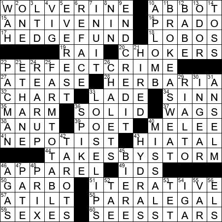Essential Supply For An Ophiologist Crossword Clue Archives Laxcrossword Com