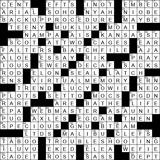 Deceptively Convincing Crossword Clue Archives Laxcrossword Com
