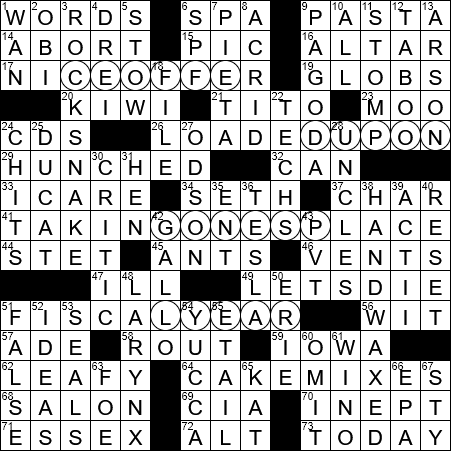 Large Python Crossword Clue Archives Laxcrossword Com