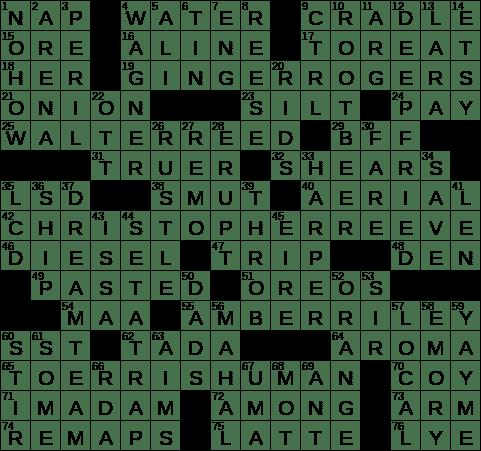 La Times Crossword 30 Jul 19 Tuesday Laxcrossword Com