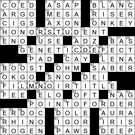 Recent Rightist Crossword Clue Archives Laxcrossword Com