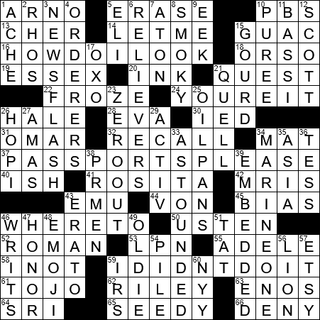 Squash For One Crossword Clue Archives Laxcrossword Com