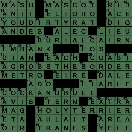 Distillery Mixture Crossword Clue Archives Laxcrossword Com