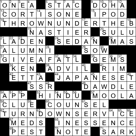 Crisply Played In Mus Crossword Clue Archives Laxcrossword Com