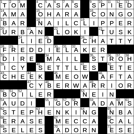 Old Detroit Brewer Crossword Clue Archives Laxcrossword Com