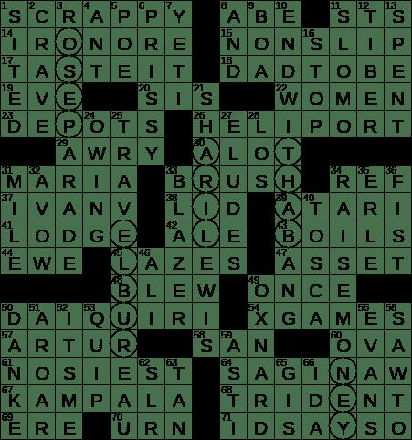 Finish Impressively Crossword Clue Archives Laxcrossword Com