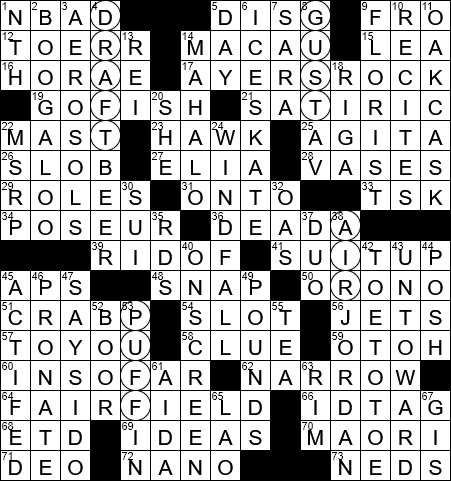 La Times Crossword 27 Mar 20 Friday Laxcrossword Com