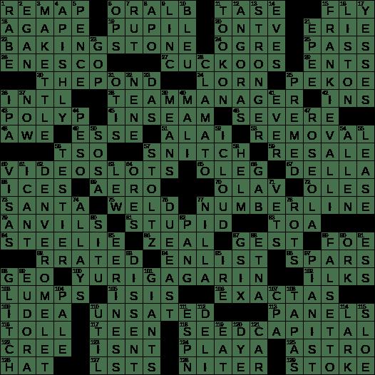 Horse Words Crossword Wordmint
