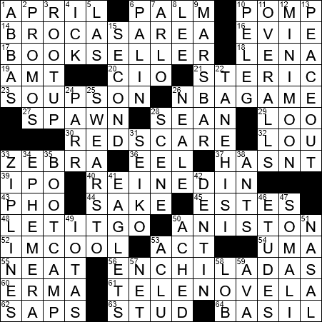 La Times Crossword 11 Apr 20 Saturday Laxcrossword Com