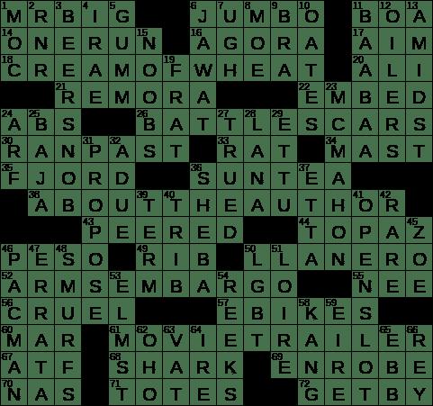 La Times Crossword 4 Oct 20 Sunday Laxcrossword Com
