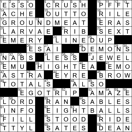 La Times Crossword 26 May 20 Tuesday Laxcrossword Com