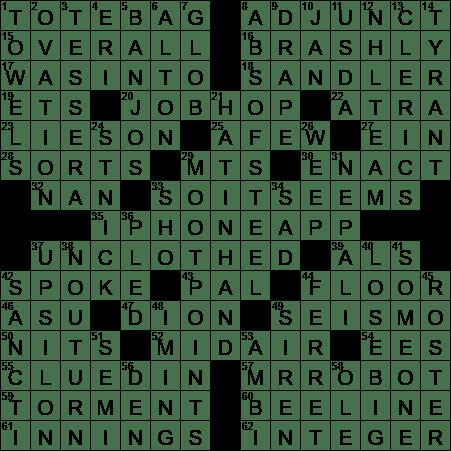 La Times Crossword 4 Jul 20 Saturday Laxcrossword Com