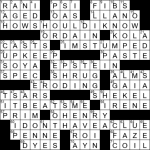 Storywriter Known For Irony Crossword Clue Archives Laxcrossword Com