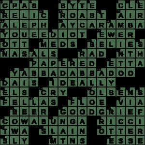 La Times Crossword 6 Jul 20 Monday Laxcrossword Com
