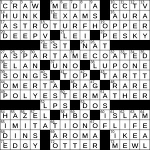 Minty Green Cocktail Crossword Clue Archives Laxcrossword Com