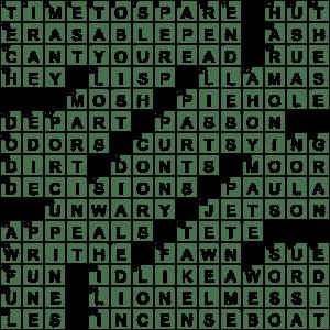 La Times Crossword 18 Jul 20 Saturday Laxcrossword Com