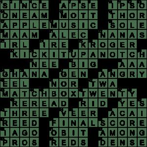 Spotify Alternative Crossword Clue Archives Laxcrossword Com