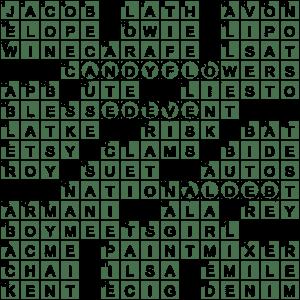 Latticework Piece Crossword Clue Archives Laxcrossword Com