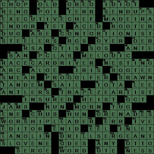 La Times Crossword 16 Aug 20 Sunday Laxcrossword Com