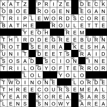 La Times Crossword 21 Sep 20 Monday Laxcrossword Com