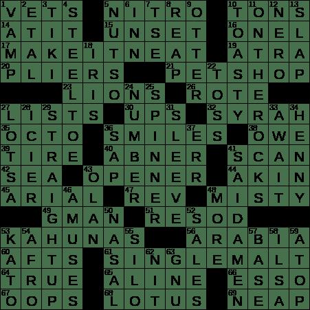 La Times Crossword 8 Sep 20 Tuesday Laxcrossword Com