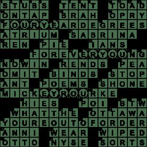 Piemonte City Crossword Clue Archives Laxcrossword Com