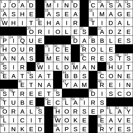 La Times Crossword 9 Sep 20 Wednesday Laxcrossword Com