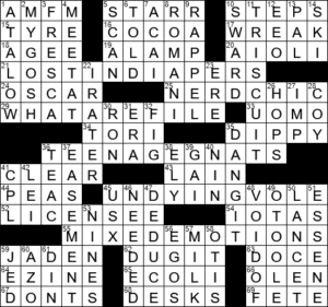 Unleash Crossword Clue Archives Laxcrossword Com