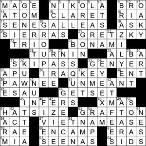 Longing In Sao Paulo Crossword Clue Archives Laxcrossword Com
