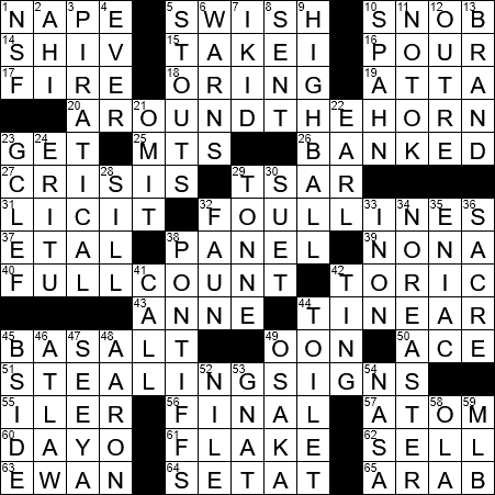 La Times Crossword 9 Oct 20 Friday Laxcrossword Com
