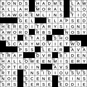 Possible Sequel To Despicable Me Crossword Clue Archives Laxcrossword Com
