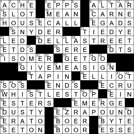 La Times Crossword 9 Nov 20 Monday Laxcrossword Com
